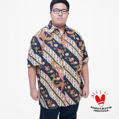 Julien Big Size 15956 Kemeja Batik Pria