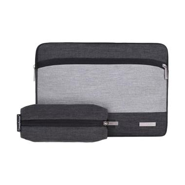 Canvas Artisan Softcase Laptop Sleeve with Pouch [15 Inch]