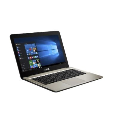 harga Asus VivoBook Max X441UA-GA311T Laptop - Black [Core i3-7020U/HDD 1TB/4GB DDR4/Intel HD/DVD-RW/Win 10/14 Inch HD] Blibli.com
