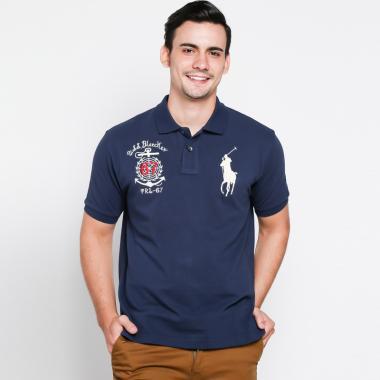 POLO RALPH LAUREN Custom Fit Polo Shirt Pria [PX14]