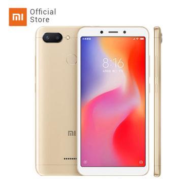 Xiaomi Redmi 6 Smartphone - Gold [32 GB/ 3 GB/ O]