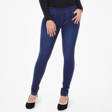 JSK Jeans 8106 Legging Celana Wanita - Biru