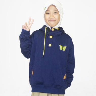 JAVA SEVEN SKR 811 Sweater Anak Perempuan - Navy