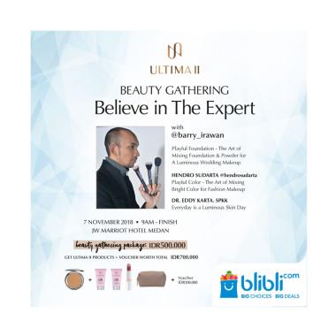 Ultima II Beauty Gathering E-Ticket [Medan]