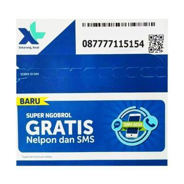XL Nomor Cantik 08 7777 11 5154 Kartu Perdana [4G LTE]