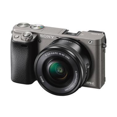 Archa Photo - SONY A6000 Kit 16-50mm OSS Kamera Mirrorless Garansi Resmi PT. Sony Indonesia Grey