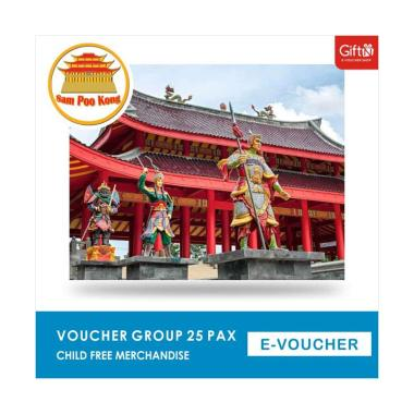 harga Sam Poo Kong Voucher Group [25 Pax/ Child] + Free Merchandise Blibli.com