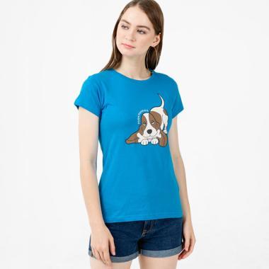 Baju Kaos Perempuan Hush Puppies - Jual Produk Terbaru Maret 2019 ... a4c4d305fc