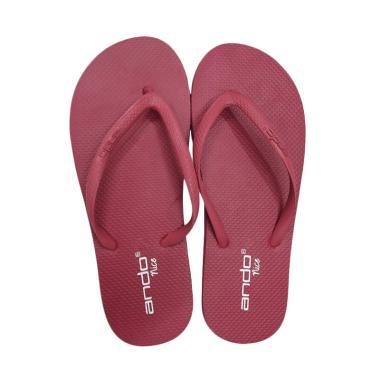 Ando Nice Ladies Sandal Jepit Wanita - Pink Fuxia