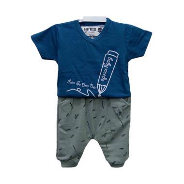 Baby Needs BN03 Stelan Baju Bayi Laki Laki
