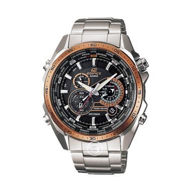 harga CASIO Edifice Solar 5-motor Chronograph Jam Tangan Pria [Original/ EQS -