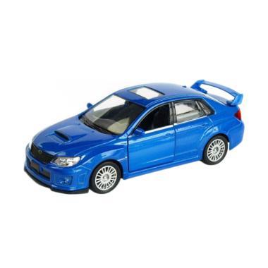 Uni Car Subaru Wrx Sti Diecast Biru 1 38