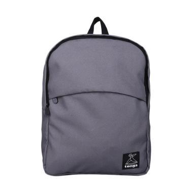 Tonga Tongabag Kasual Backpack Tas Ransel Pria - Grey [AB003]