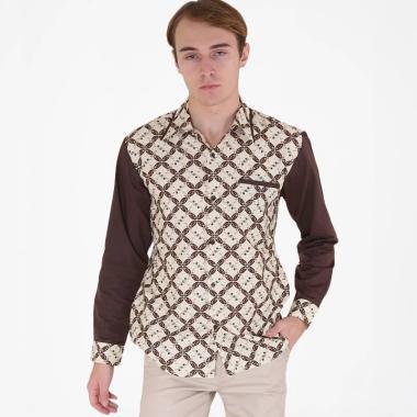 Rianty Rafael Slimfit Hem Batik Lengan Panjang Pria 8b3704a49d