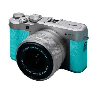 harga Fujifilm X-A5 Kamera Mirrorless - Mint Green + SDHC SANDISK 16GB Blibli.com