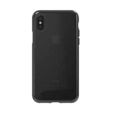 save off bd377 84f49 adidas Originals Trefoil Clear Casing for iPhone X