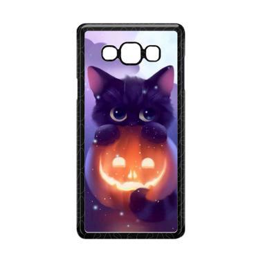 harga Acc Hp Halloween Cat L0018 Custome Casing for Samsung Galaxy A7 2015 Blibli.com
