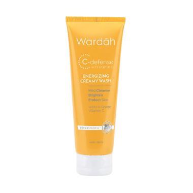Wardah C-Defense Creamy Wash [100 mL]