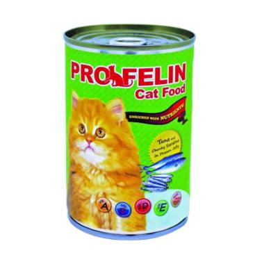 harga Cleine Tadita Petshop - Profeline Tuna & Chucky Sardine Wet Makanan Kucing [400 g] Blibli.com