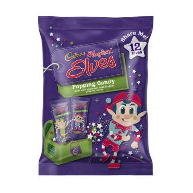 CADBURY Magical Elves Popping Candy Coklat [12 pcs]