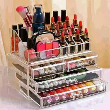 IMPORT LIPSTIK Organizer Acrylic Rak Kosmetik