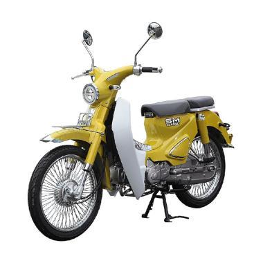 harga SM Sport Cub Classis Sepeda Motor [VIN 2019/ OTR Jabodetabek] Yellow JABODETABEK Blibli.com