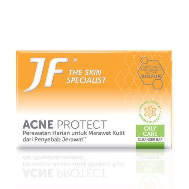 Jual Jf Sulfur Acne Protect Green Sensation Sabun Jerawat 65 G Online April 2021 Blibli
