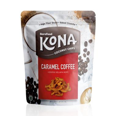 KONA Coconut Chips Caramel Coffee [45 g/ Pouch]