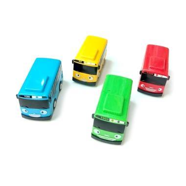 Tayo Pullback The Litte Bus Tayo Set Action Figure [4 pcs]