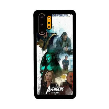 Cannon Case Avengers Endgame Poster P1212 Custom Hardcase Casing for Samsung Galaxy Note 10+
