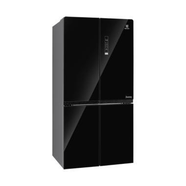harga Electrolux EQE6909A-B Kulkas Side By Side   Unit Only Black/Black  JABODETABEK Blibli.com