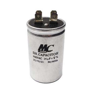 harga MC 14 uf  Aluminium Kapasitor AC [450 V] Blibli.com