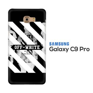 acc hp casing custom hardcase off white wallpaper l0227  samsung c9 pro full02 wa5dgoh