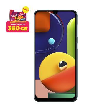 Samsung Galaxy A50s Smartphone [6 GB/ 128 GB] + Free Stater Pack SP Bosku Smartfren 360 GB