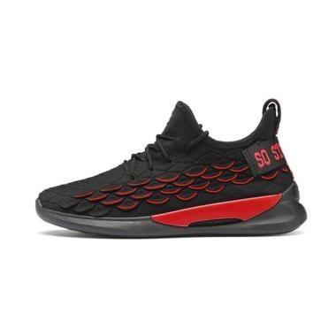 harga Sepatu Sneaker Ambigo Dragon Skin Running Shoes Sepatu Sneakers Olahraga Pria Fitness Sepatu Lari Blibli.com