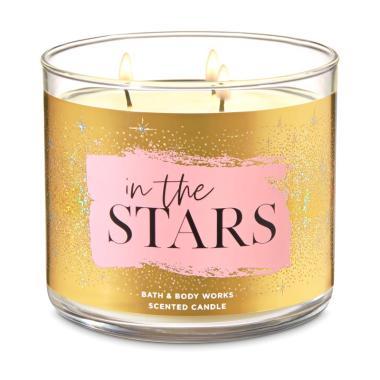 harga Bath and Body Works BBW 3 In The Stars Wick Candle Blibli.com