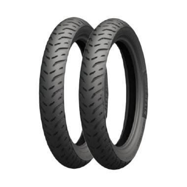 harga Michelin Pilot Street 2 80/90 & 90/90-14 TL Paket Ban Motor BONUS Pentil & Cairan Anti Ban Bocor Blibli.com
