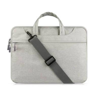 harga Bag Zone Cooltech Tas  Selempang Laptop [14 inch] GREY Blibli.com