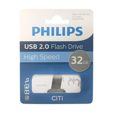 harga PHILIPS Citi Edition A14 Flashdisk [32 GB/ USB 2.0] Putih Blibli.com