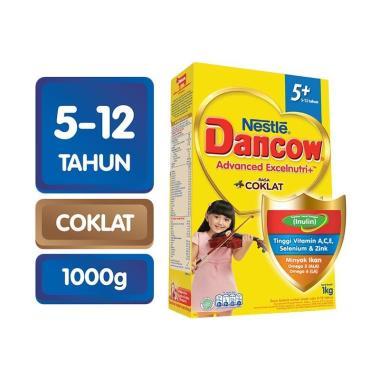 WHS - SMG/JOG/SOLO - Dancow 5+ Coklat Susu Formula [1000 g]