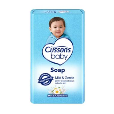 harga Cussons Baby Soap Milk & Gentle Sabun Bayi [75 g/ 5 Pcs] - Blibli.com