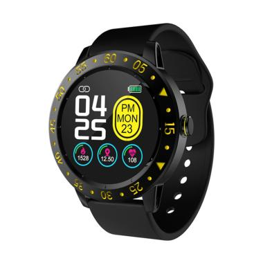 harga IIT SDW01 Smart Watch Smart Waterproof Fitness Tracker with Heart Rate Monitor Sports Mode Message Reminder [IP67/ 1.3 Inch] Blibli.com