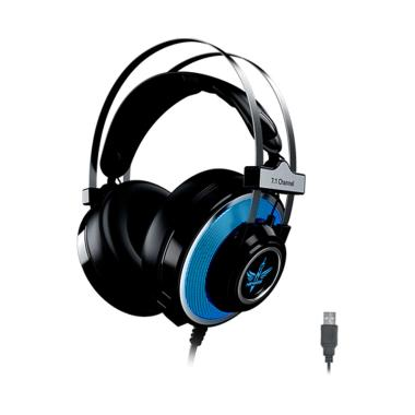 harga NYK E-10 HS Thunder 7.1 Surround Sound Gaming Headset hitam Blibli.com