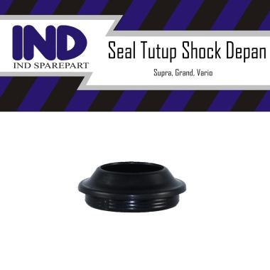 harga IND Onderdil Seal Tutup Shock Depan Supra X 125 Grand Vario Revo Beat FI Blade HItam