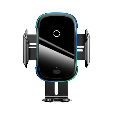 Baseus Qi Fast Charging Wireless Charger 15W Infrared Sensor Car Holder