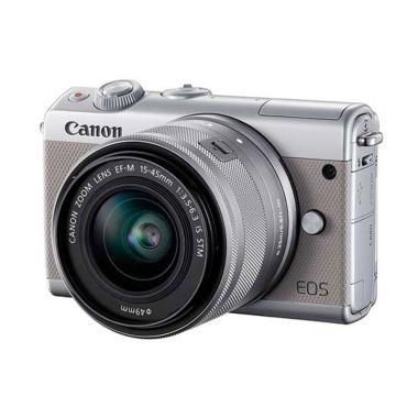 Canon EOS M100 Kit EF-M 15-45mm Kamera Mirrorless