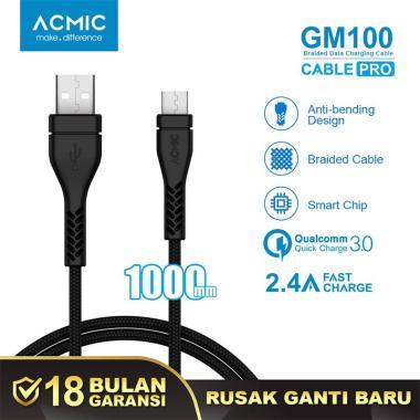 ACMIC GM100 Micro USB Kabel Data [100 cm]