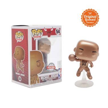 Funko Pop Special Edition NBA Michael Jordan Bronzed Action Figure
