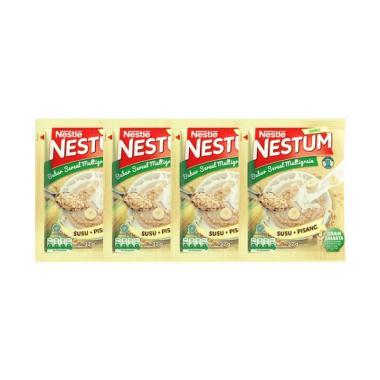 harga Nestle Nestum Bubur Sereal Susu Pisang 3in1 [Polybag 4 x 32 gr] Blibli.com