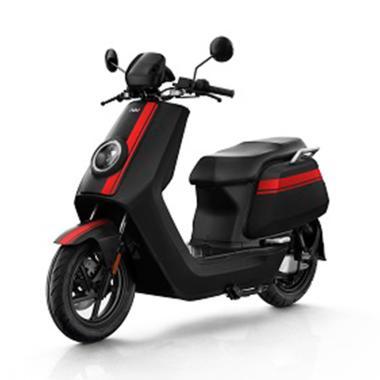 NIU NGT Sepeda Motor Listrik [On The Road] BLACK RED JABODETABEK
